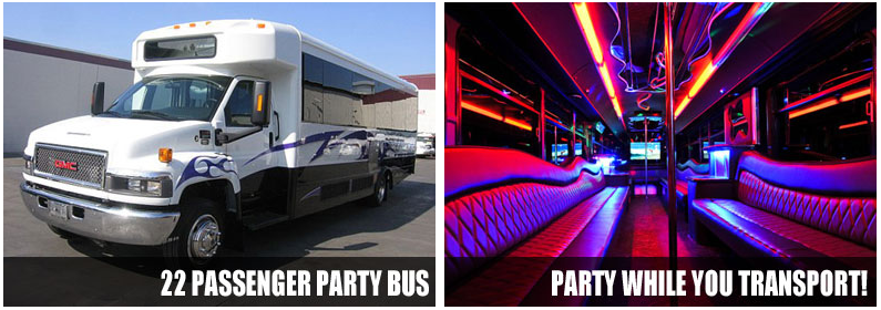Airport Transportation Party Bus Rentals New Orleans