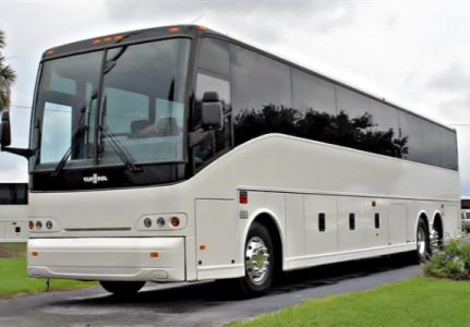 50 Passenger Charter Bus Harvey